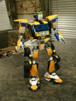 Autobot Headmaster Overdrive pic 1 by PunchSydeiron