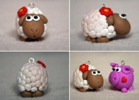 :: little sheep :: by Flowerinka