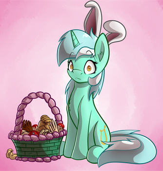 Easter Human Horse by WitchTaunter
