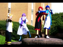 Vocaloid: This stage by SquarePegSaz