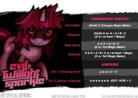 Evil Twilight Movelist *Unofficial by MysteryEzekude