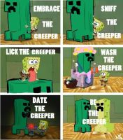 Spongebob Gets to Know his Creeper by bigtimetransfan27