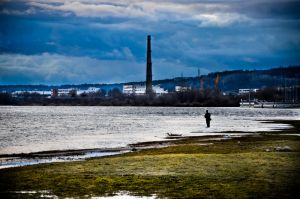 The Clouds, the Fish and the Toxic Waste by OnMyWayTo42