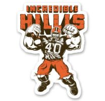 Incredible Hillis - Sticker by Griggitee