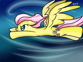 Stream request: Fluttershy by WolfyOmega