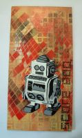 'ill tempered robot' by 8ballart