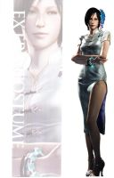 Ada RE6 Extra Costumes 4 by Sparrow-Leon