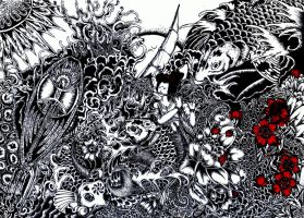 Japanese Art - Experimental by the-ramy
