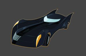 Batmobile by seanwthornton