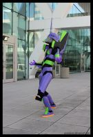 Otakon 2011 - Eva 05 by greenjinjo