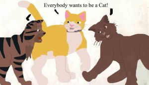 Everybody wants to be a Cat by FaPingMulan