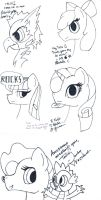 MLP-MSP Autographs/drawings by southusa