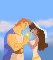 Meg and Hercules by sbrigs