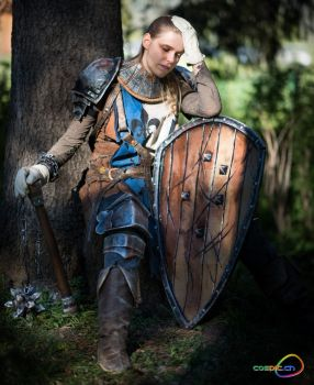 War-weary Conqueror by Manadrunk