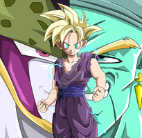 Gohan Female Teenager by Maniaxoi