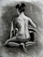 Subtractive Figure Drawing by tylersticka