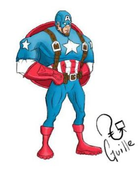 Capi America by Guillefrey