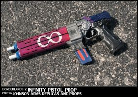 Custom Borderlands 2 'Infinity Pistol' Prop by JohnsonArms