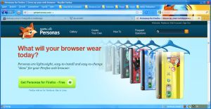 Firefox 3.5 Persona by psyviant