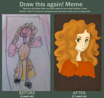 Before and After Meme by LittleGeeky