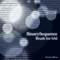 Binary Sequence Brush by KarnivalKun