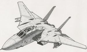 US Navy F-14 Tomcat by RamageArt
