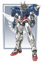 PG Gundam 00 by nato2469