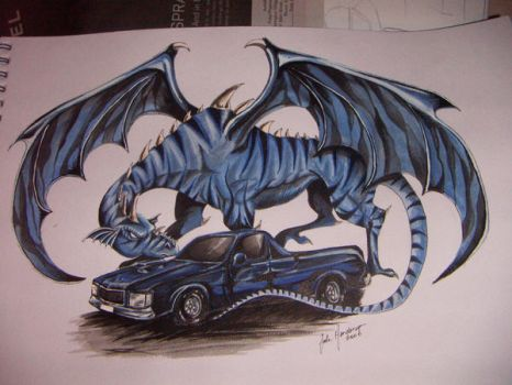 The Holden and the Dragon by therealmutley