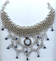 Moonstone goddess by Caladria