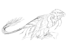 Phoenix type Sketch by Sharvus