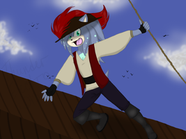 :CE: Pirate Lucas by ThunderElectro