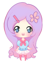 quick chibi: Mimru by BZSarahHime