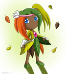Autumn the Seedrian by Domestic-hedgehog