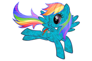 Rainbow Dash HD Retexture by TheArsonistMonkey