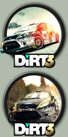 Dirt 3 Icons by kodiak-caine