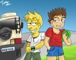 Ben 10 and The Simpsons Mashup by Tahkyn