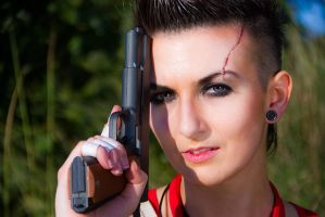 Vaas Montenegro Cosplay from Far Cry 3 (Rule 63) by LadyofRohan87