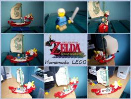The Wind Waker Lego by tquinnathome1