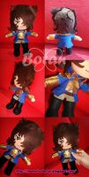 chibi Andre' plush version by Momoiro-Botan