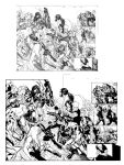 X-men 200 pag 30-31 inks by Lobo-Cuevas
