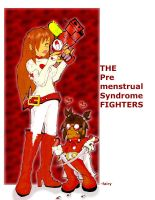 Premenstrual Syndrome FIGHTERS by candybeyatch