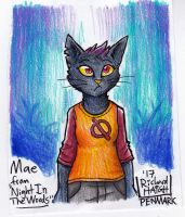 Mae Borowski by Pen-Mark