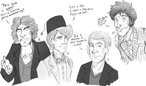 Four Doctors by Ridel