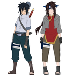 Sasuten and Nejiten sons by BayneezOne