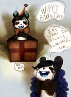 Panda in a Box by Berserk-Cyborg-Panda