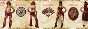 Lightning Returns Contest: Western Rose Set by ARCrebs
