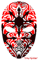 Carnival mask no.2 by Midniteoil-Burning