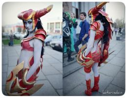 Shyvana - league of legends by Olli-vo4ka