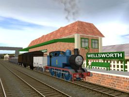 Thomas in his early years. by WaluigiTails3801