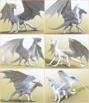 HFS Legendary Shapes HD for DAZ Dragon 3 Collage by DarioFish